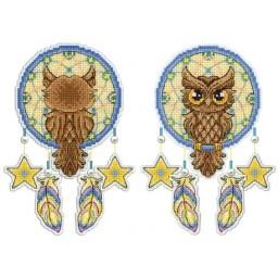 Cross Stitch Kit DREAM CATCHER-OWL R-273 Pre-order