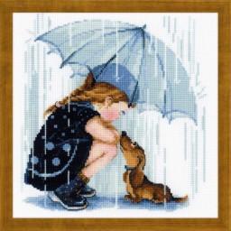 Cross Stitch Kit Under My Umbrella art. 1720