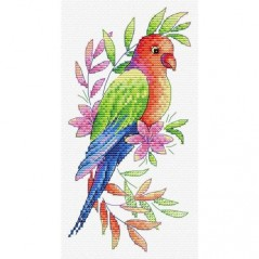 Cross stitch kit A PARROT V-535