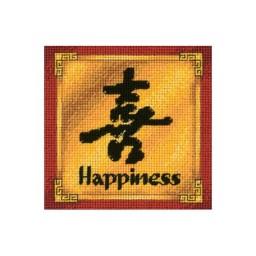 Needlepoint Kit Happiness art. 17057