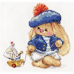 Cross Stitch Kit Sailor (bunny) art. 0-180