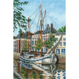 Cross Stitch Kit With The Flavour of Salt, Wind and Sun M852