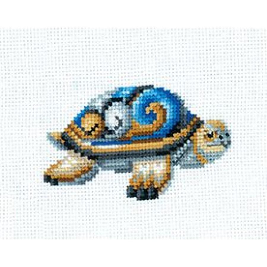 Cross Stitch Kit Turtle art S-41