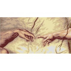 Cross stitch Chart The Creation of Adam S2736J