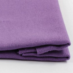 Fabric for free embroidery technique Violet 30ct 100% cotton 50 x 50 cm.