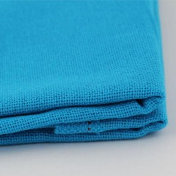 Fabric for free embroidery technique 21 Blue 30ct 100% cotton 50 x 50 cm.