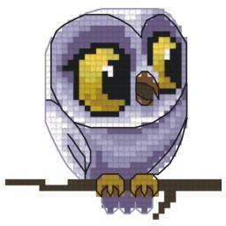 Cross Stitch Chart Owl PDF Pattern