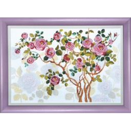 Cross Stitch Kit Blooming dog-rose BT-1007