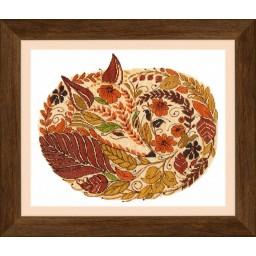 Cross Stitch Kit Colors of Autumn (fox) BT-140