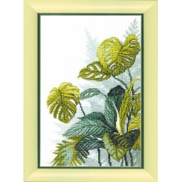 Cross Stitch Kit In tropical forests BT-151
