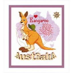 Cross Stitch Kit Australia BT-173