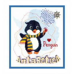 Cross Stitch Kit Antarctica BT-180