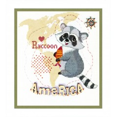 Cross Stitch Kit America BT-182