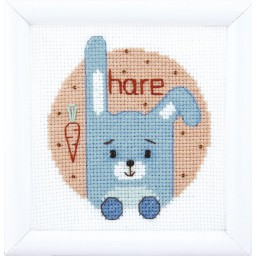 Cross Stitch Kit Animal world. Bunny BT-200