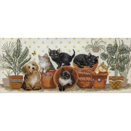 Cross Stitch Kit Funny company BT-248
