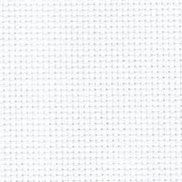 1 Pc White Cotton Aida 11, 14, 16 and 18 ct 32 x 45cm
