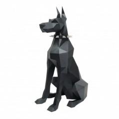 3D PAPERCRAFT KIT DOBERMAN PP-2DBR-BLA